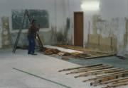 1998 - Dojo Sanierung/ Einbau des Parketts