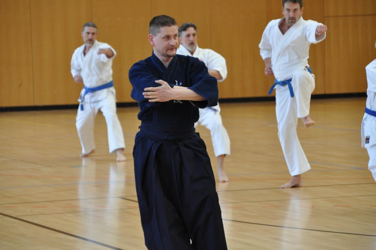 Shima Ha Shorin Ryu - seminar in Aschersleben, 2018